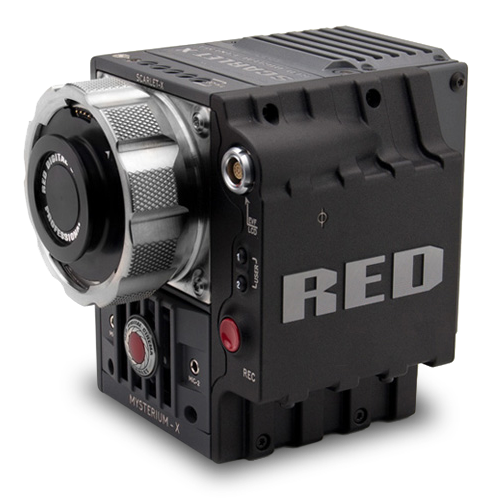 RED Scarlet with Ti PL mount